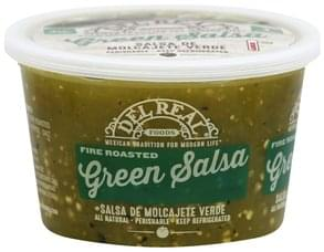 Del Real Salsa Green, Fire Roasted