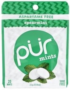 Pur Mints Sugar Free, Spearmint