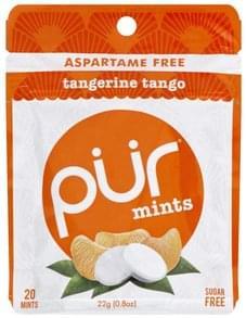 Pur Mints Sugar Free, Tangerine Mango