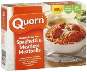 Quorn Spaghetti & Meatless Meatballs Meatless & Soy-Free