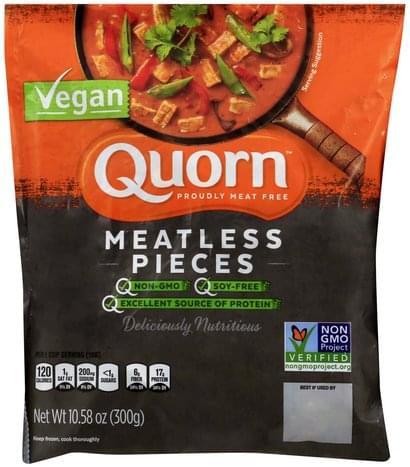 Quorn Vegan Meatless Pieces - 10.58 oz