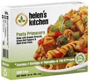 Helens Kitchen Pasta Primavera