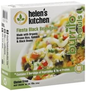 Helens Kitchen Fiesta Black Bean Bowl