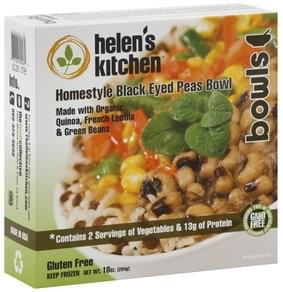 Helens Kitchen Black Eyed Peas Bowl Homestyle