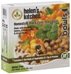 Helens Kitchen Black Eyed Peas Bowl Homestyle