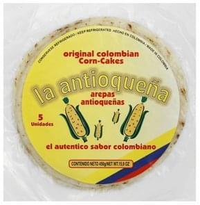 La Antioquena Corn-Cakes Original Colombian