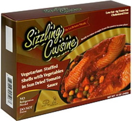 La Briute Meals Vegetarian Stuffed Shells with Vegetables in Sun Dried Tomato Sauce - 12 oz