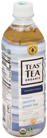 Teas Tea Elegant Jasmine, Unsweetened Green Tea - 16.9 oz