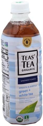Teas Tea Unsweetened Green + White Tea - 16.9 oz