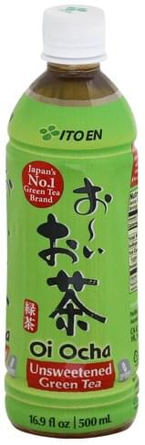Ito En Unsweetened Green Tea - 16.9 oz