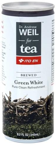 Ito En Brewed, Green White Tea - 8.2 oz