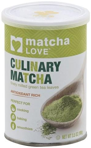 Matcha Love Culinary, Leaves Matcha - 3.5 oz