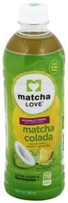 Matcha Love Coconut Water + Matcha + Green Tea Matcha Colada