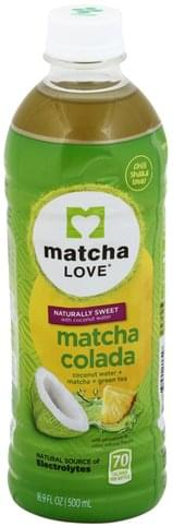 Matcha Love Matcha Colada Coconut Water + Matcha + Green Tea - 16.9 oz