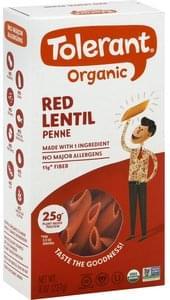 Tolerant Penne Organic, Red Lentil
