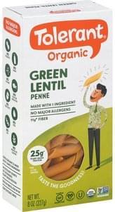 Tolerant Penne Organic, Green Lentil