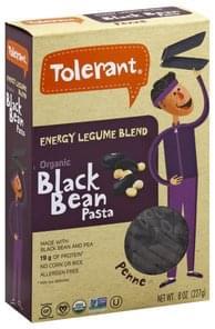 Tolerant Penne Organic, Black Bean Pasta