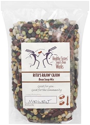 Healthy Sisters Bean, Rita's Rajin' Cajun Soup Mix - 14 oz
