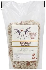 Healthy Sisters Soup Mix Bean, Max's Tuscan