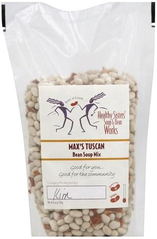 Healthy Sisters Bean, Max's Tuscan Soup Mix - 14 oz