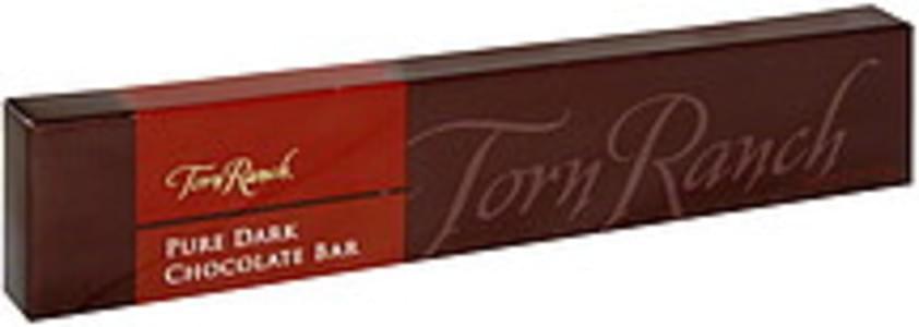 Torn Ranch Dark Chocolate Bar Chocolate, Organic, Lavender Blueberry