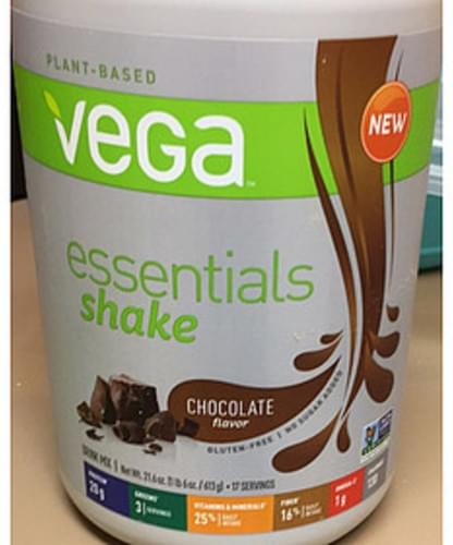 Vega Chocolate Essentials Shake - 36 g