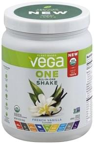 Vega Drink Mix French Vanilla Flavored