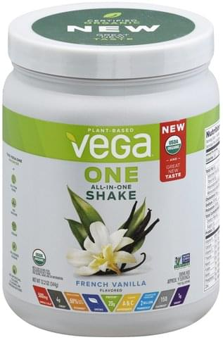 Vega French Vanilla Flavored Drink Mix - 12.2 oz