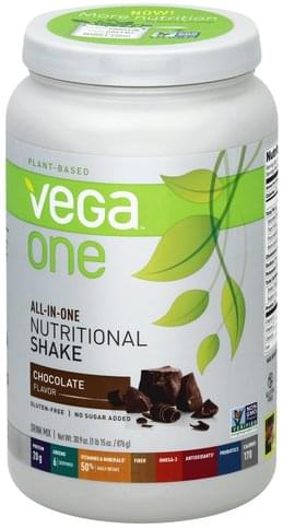Vega Chocolate Flavor Drink Mix - 30.9 oz