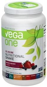 Vega Drink Mix Mixed Berry Flavor