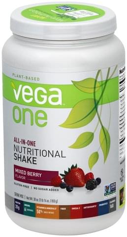 Vega Mixed Berry Flavor Drink Mix - 30 oz