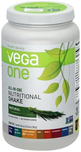 Vega Natural Drink Mix - 30.4 oz