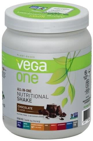 Vega Chocolate Flavor Drink Mix - 16 oz