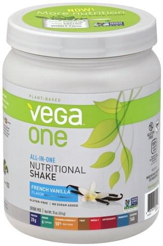 Vega French Vanilla Flavor Drink Mix - 15 oz