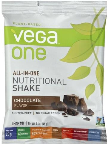 Vega Chocolate Flavor Drink Mix - 1.6 oz