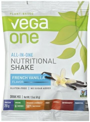 Vega French Vanilla Flavor Drink Mix - 1.5 oz