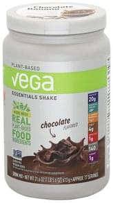 Vega Drink Mix Essentials Shake, Chocolate Flavored