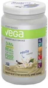 Vega Drink Mix Essentials Shake, Vanilla Flavored