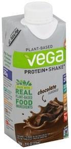 Vega Protein + Shake Plant-Based, Chocolate Flavored