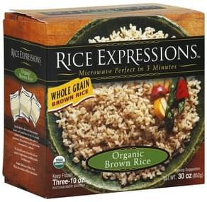 Rice Expressions Organic Brown Rice Whole Grain