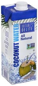 Natures Delite Coconut Water