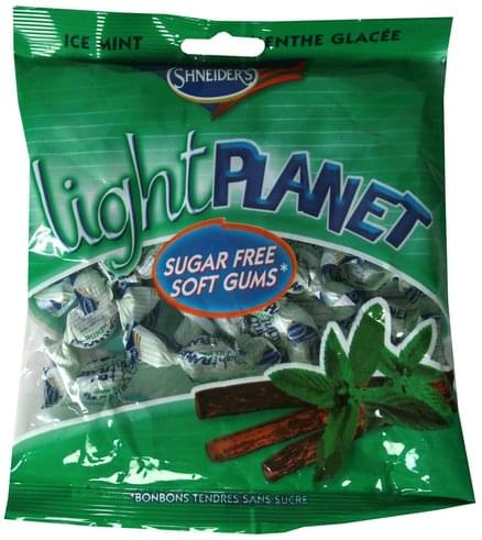 Shneiders Ice Mint Flavor Sugar Free Soft Gums - 60 g