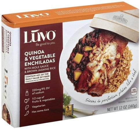 Luvo Quinoa & Vegetable Enchiladas - 12 oz