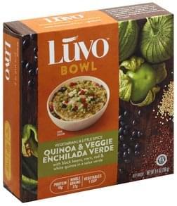 Luvo Quinoa & Veggie Enchilada Verde Bowl