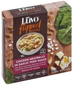 Luvo Chicken Meatballs in Garlic Wine Sauce