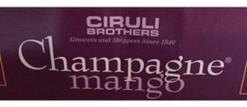 Ciruli Brothers Champagne Mango - 140 g
