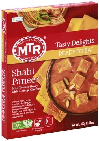 MTR Ready to Eat Shahi Paneer - 300 g, Nutrition Information | Innit