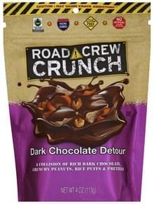 Road Crew Crunch Dark Chocolate Detour