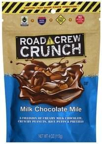 Road Crew Crunch Milk Chocolate Mile