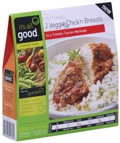 Its All Good Veggie Chick'n Breasts in a Tomato Tuscan Marinade